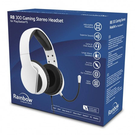Headset 300 gaming stereo rw - PS5