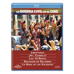 La guerra civil en el cine (Pack) - BD