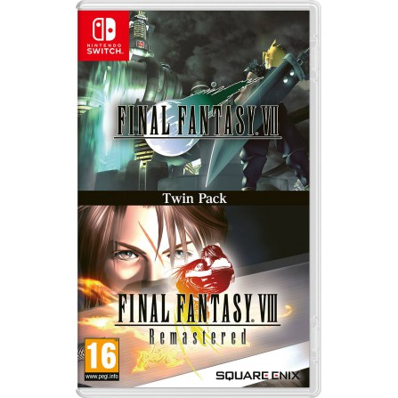 Final Fantasy VII + Final Fantasy VIII - SWI