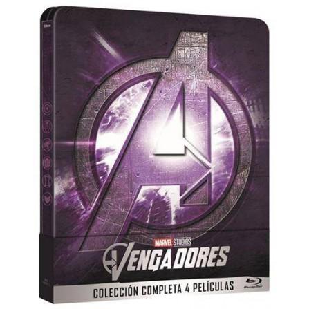 Vengadores 1-4 + steelbook - BD