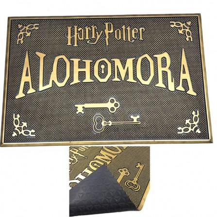 Felpudo goma Harry Potter Alohomora