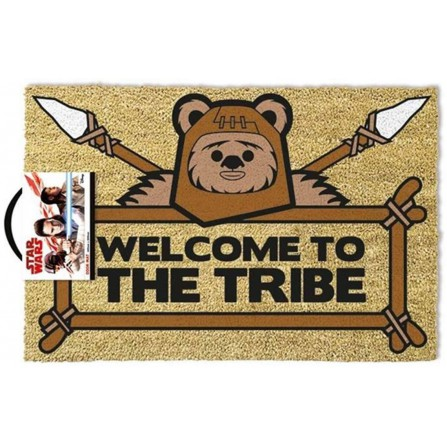 Felpudo Star Wars Welcome to the Tribe Ewok