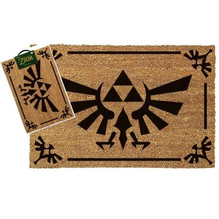 Felpudo the Legend of Zelda Triforce Black