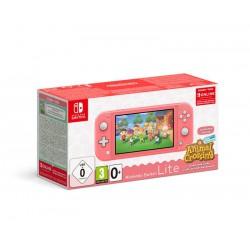 Consola SWI Lite Coral + AC New Horizons + 3 meses Nintendo Online