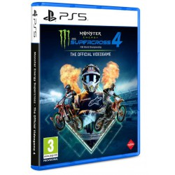 Monster Energy Supercross The Official VideoGame 4 - PS5