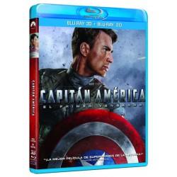Capitán América, El primer vengador (BR3D + BR) - BD