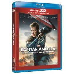 Capitán América: El soldado de invierno (BR + BR3D) - BD