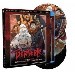 Berserk La Edad de Oro 1: El Huevo del Rey Conquistador Edición - DVD