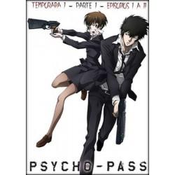 Psycho-Pass Temporada 1 Parte 1 - DVD