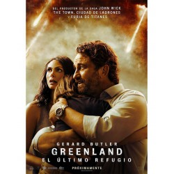 Greenland: El último refugio - DVD