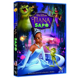 Tiana y el sapo - DVD