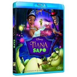 Tiana y el sapo - BD