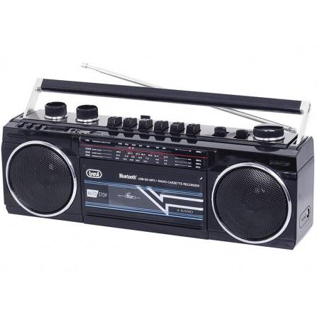 Radio Casette RET BT Trevi RR 501 BT Negro