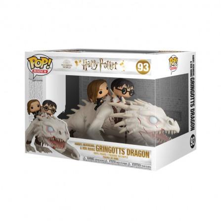 Funko Pop Hermione y Ron Cabalgando Dragon - Escape de Gringotts -  Harry Potter