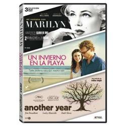 Mi Semana Con Marilyn + Un Invierno En La Playa + Another Year - BD