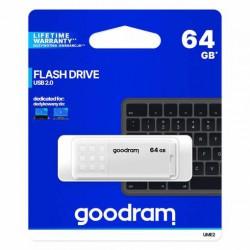 Pendrive USB 2.0 Goodram 64GB UME2 Blanco
