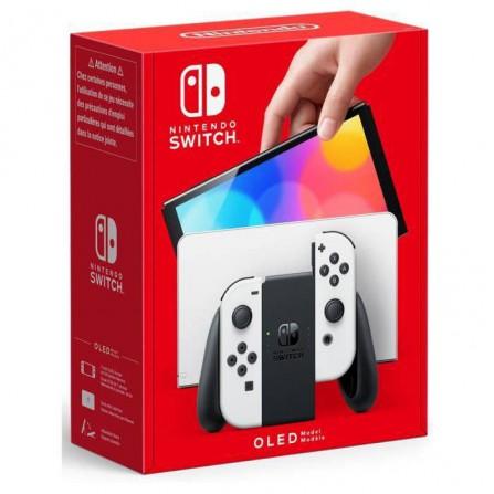 Consola Nintendo Switch OLED Edition - Blanca