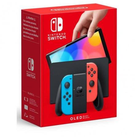 Consola Nintendo Switch OLED Edition - Azul Neon Rojo Neon
