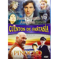 Pack Hans Christian Andersen - Pinocho - DVD