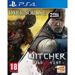 The Witcher 3 + Dark Souls III - 2 en 1 - PS4
